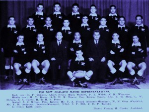 1956 Maori team photo