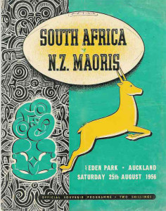 1956 SA vs NZ Maori Program