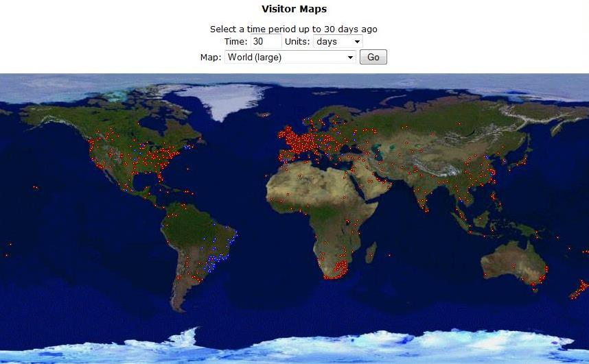 Visitor Maps