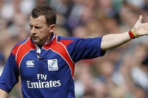 Nigel Owens - Best refereeing performance of the year (Springboks vs All Blacks, Ellis Park, SA)