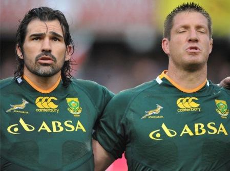 Victor Matfield & Bakkies Botha