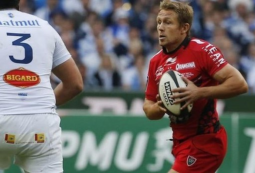 Jonny Wilkinson for Toulon in the 2014 Top 14 Final against Castres, his last game before retirement.