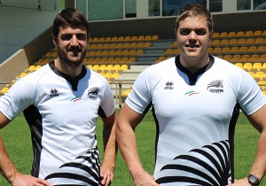 Hennie Daniller & Andries Ferreira at Zebre, Italy.