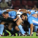 The Argentine scrum in action.