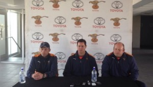 Toyota Free State Cheetahs coaching staff