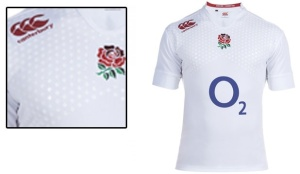 England's rugby jersey