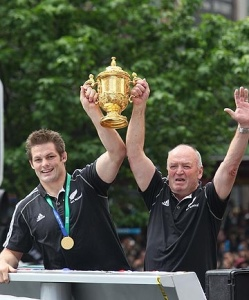 Richie McCaw & Sir Graham Henry