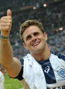 Happy man: Rory Kockott