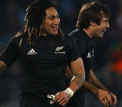 Ma'a Nonu and Conrad Smith