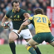 Bismarck Du Plessis will start at hooker against the All Blacks