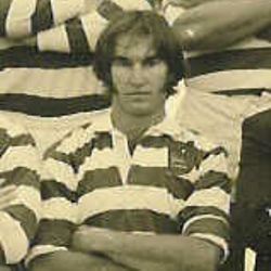 Danny Delport in Rhodesian colours, 1979