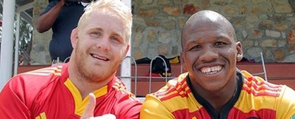 Vincent Koch & Bongi Mbonambi