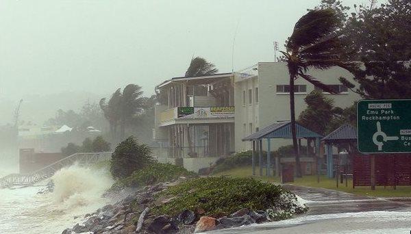 Cyclone Marcia in Brisbane