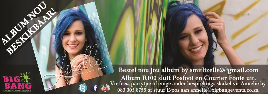 2015-04-10 Lizelle Smit - CD nou Beskikbaar