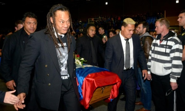 Jerry Collins funeral