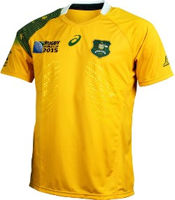 Wallabies 2015 Rugby World Cup jersey