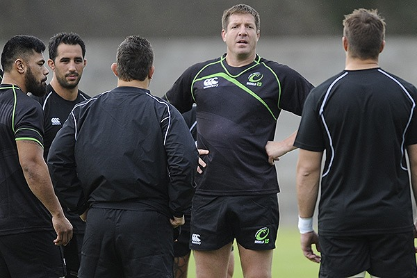 Bakkies Botha, captain of the World XV side to face the Springboks
