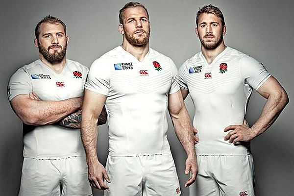 England Rugby World Cup 2015 jersey