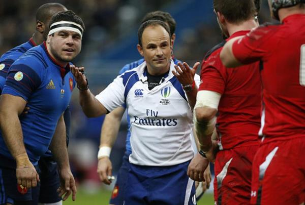 Jaco Peyper, referee for the opening game of the Rugby World Cup