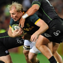 Schalk Burger vs World XV