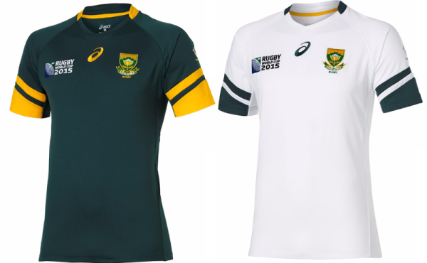 South Africa 2015 Rugby World Cup Jersey