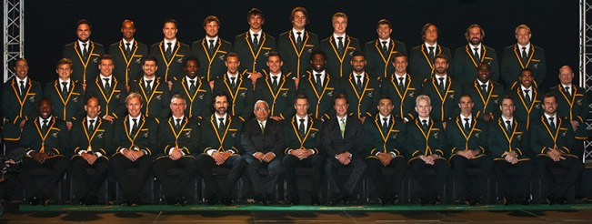 Springbok Rugby World Cup 2015 squad