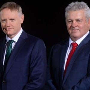 Joe Schmidt & Warren Gatland