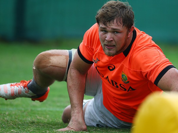 Duane Vermeulen at training