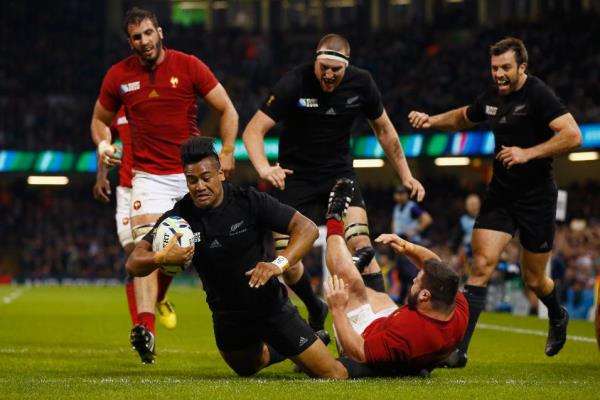 Julian Savea's barnstorming try against Wales