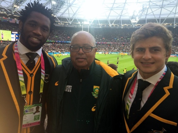 Lwazi Mvovo, Greg Levendahl & Pat Lambie