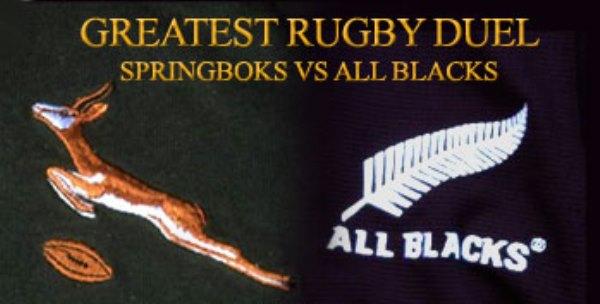 Springboks vs All Blacks