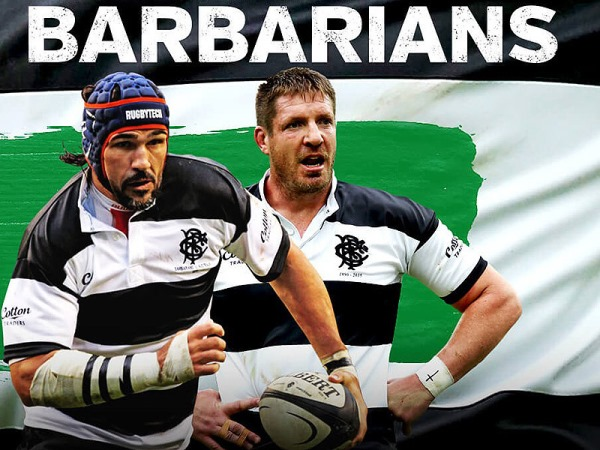 Barbarians Rugby - Victor Matfield & Bakkies Botha
