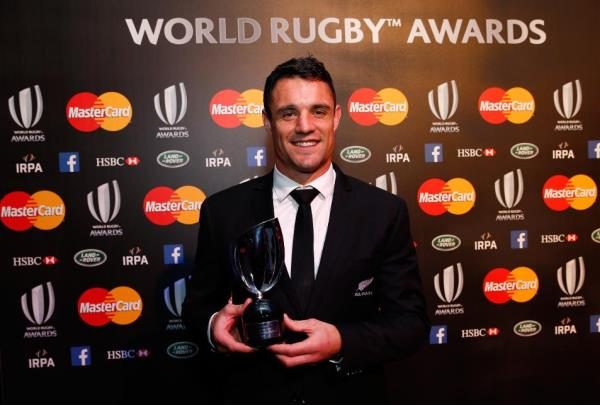 Dan Carter, World Rugby Player of the Year 2015