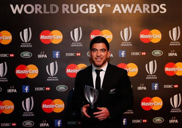 Nehe Milner-Skudder, World Rugby Breakthrough Player of the Year 2015